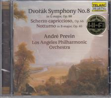 DVORAK - SYMPHONY NO.8 CD PREVIN, LOS ANGELES PHILHARMONIC ORCHESTRA