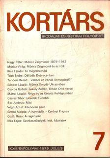 Bécsy Tamás - Kortárs 7. 1979. július [antikvár]