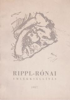 Takáts Gyula - Rippl-Rónai halálának 30. évfordulójára rendezett emlékkiállítás [antikvár]