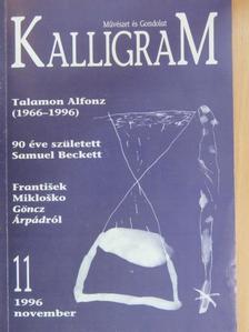 Bettes István - Kalligram 1996. november [antikvár]