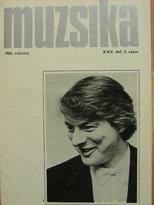 Albert Mária - Muzsika 1982. március [antikvár]
