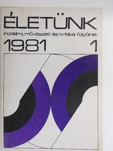 Aczél Géza - Életünk 1981. január [antikvár]