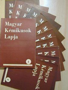 Bakos Miklós - Magyar Kémikusok Lapja 1954. január-december [antikvár]