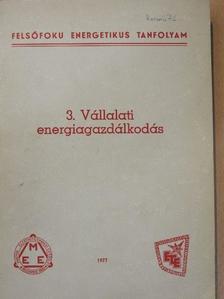 Árvay László - Vállalati energiagazdálkodás [antikvár]