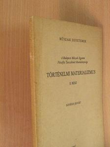 Dr. Gombár Csaba - Történelmi materializmus II. [antikvár]