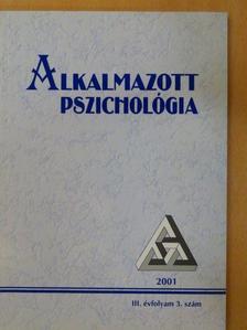 Balogh László - Alkalmazott Pszichológia 2001/3. [antikvár]