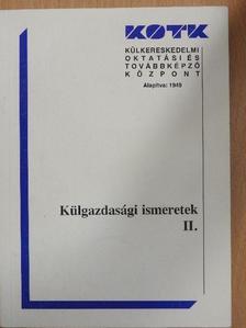Bassa Zoltán - Külgazdasági ismeretek II. [antikvár]