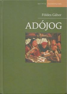 Földes Gábor - Adójog [antikvár]