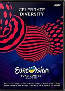 EUROVISION SONG 2017 - 3 DVD