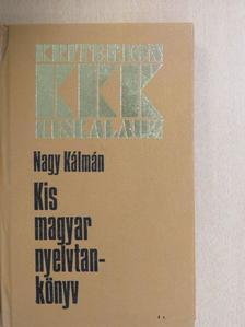 N. Habina Mária - Kis magyar nyelvtankönyv [antikvár]