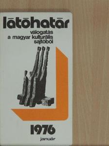 Benjámin László - Látóhatár 1976. január [antikvár]