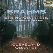 BRAHMS... - STRING QUARTETS OP.51no1,2 CD CLEVELAND QUARTET