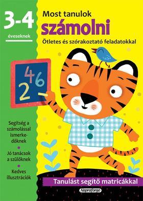 Most tanulok... számolni (3-4 éveseknek)