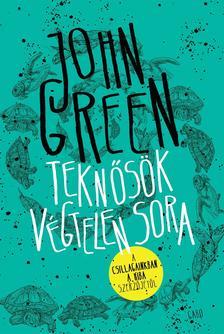 John Green - Teknősök végtelen sora - fűzött