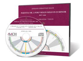 Bach - PARTITA NR. 2 FOR VIOLIN SOLO IN D MINOR - CD