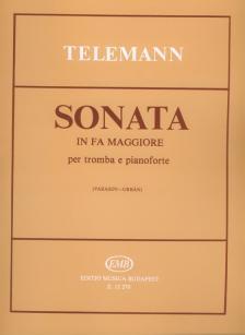 TELEMANN - SONATA IN FA MAGGIORE PER TROMBA E PIANOFORTE (VARASDY-ORBÁN)
