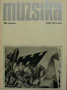 Albert Mária - Muzsika 1981. augusztus [antikvár]