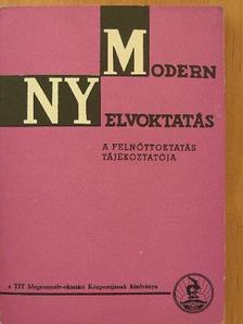 Andor József - Modern nyelvoktatás 1982/1-2. [antikvár]