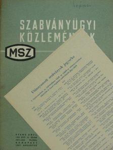 Dr. Laczkó Edéné - Szabványügyi Közlemények 1967. augusztus [antikvár]