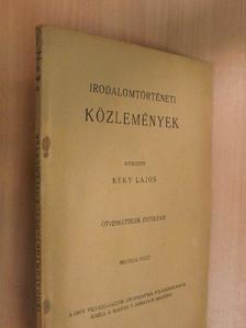 Barta János - Irodalomtörténeti Közlemények 1942/4. [antikvár]