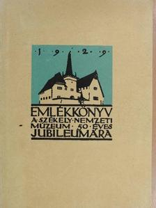 Andriesescu - Emlékkönyv a Székely Nemzeti Múzeum 50 éves jubileumára 1929 I. (dedikált példány) [antikvár]