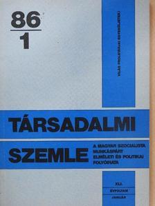 Ballai László - Társadalmi Szemle 1986. január [antikvár]
