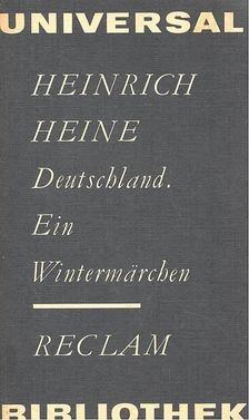 Heine, Heinrich - Deutschland - Ein Wintermärchen [antikvár]