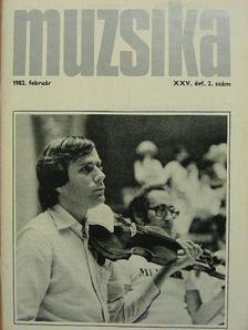 Berlász Melinda - Muzsika 1982. február [antikvár]