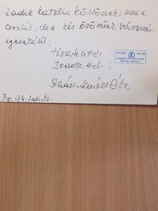 Ihász-Kovács Éva - Apokrif deklamáció (dedikált példány) [antikvár]