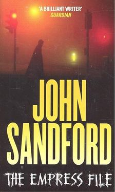 John Sandford - The Empress File [antikvár]