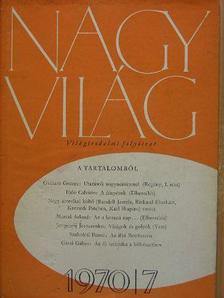Beke György - Nagyvilág 1970. július [antikvár]