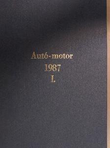 Almássy Tibor - Autó-Motor 1987. január-december I-II. [antikvár]