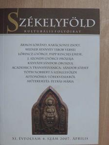 Banner Zoltán - Székelyföld 2007. április [antikvár]