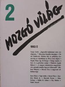 Berta Péter - Mozgó Világ 1992. február [antikvár]