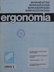 Acsády István - Ergonómia 1990. (nem teljes évfolyam) [antikvár]