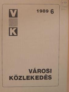 Dr. Hermann Knoflacher - Városi közlekedés 1989. december [antikvár]