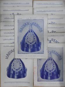 Bödő Károly - Magyar Rendőr 1938. (nem teljes évfolyam) [antikvár]