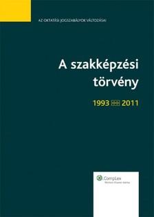 KLÉSZ TIBOR - A szakképzési törvény - tükrös kiadás! [eKönyv: epub, mobi]