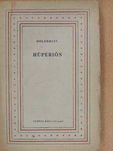 Friedrich Hölderlin - Hüperión [antikvár]