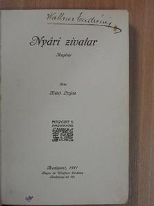 Biró Lajos - Nyári zivatar [antikvár]
