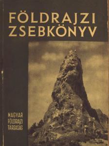 Almár Iván - Földrajzi zsebkönyv 1958 [antikvár]
