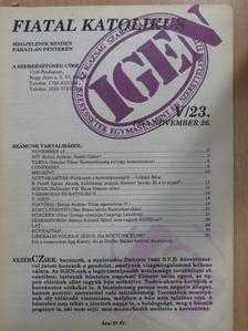B. Petőfi Ágnes - Fiatal katolikus 1993. november 26. [antikvár]