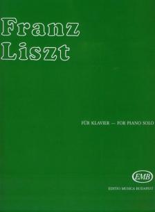 LISZT - KLAVIERSTÜCK FIS-DUR FÜR KLAVIER,SERIE I/11.