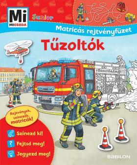 Mi MICSODA Junior Matricás rejtvényfüzet - Tűzoltók