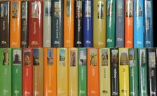"""Balázs Dénes - """"30 kötet a Panoráma útikönyvek sorozatból (nem teljes sorozat)"""" [antikvár]"""