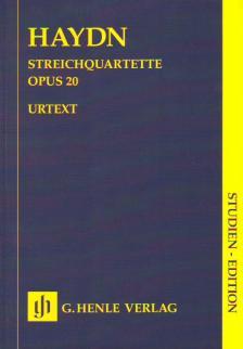 HAYDN J. - STREICHQUARTETTE OP.20 STUDIENPARTITUR URTEXT (FEDER / GERLACH)