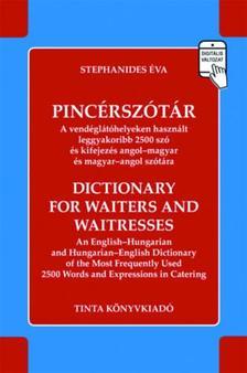 Stephanides Éva - Pincérszótár