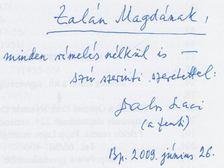 Dalos László - Sóspereccel kezdődött (dedikált) [antikvár]