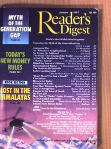 Daniel R. Levine - Reader's Digest January 1995 [antikvár]