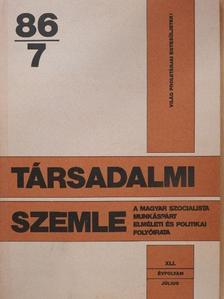 Erdős Péter - Társadalmi Szemle 1986. július [antikvár]